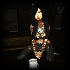 Cyber Junkie (Wild Hex) Tags: music dj avatar longhair secondlife drugs future cyborg junkie hex futuristic cyber cybernetics dystopia hangarsliquides