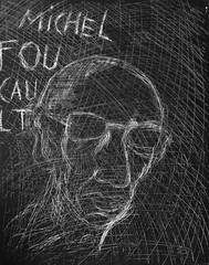 Michel Foucault (EFFER LECEBE) Tags: portrait usa france art sport canon painting nikon artist drawing soccer politics culture philosophy books exhibition trump michelfoucault littrature euro2016