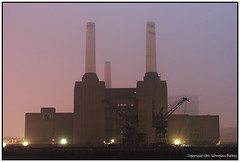 Battersea Power Station (seb a.k.a. panq) Tags: mist plant fog night power battersea noctography sebastianbakajphotography