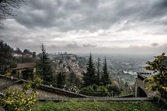 Scorci piovosi da Bergamo alta # 5 (antoniopedroni photo) Tags: nuvole grigio bergamo pioggia bergamoalta