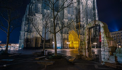 Klner Dom, Antikes Tor (Andys-eyecatcher) Tags: instagramapp nature art canon europe travel square photography flickr city new geo landscape cityscape detail uww me longtimeexposure night light kln old rmer tor