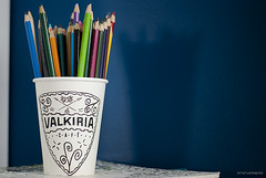 Coffee and color (spies, emanuele spies) Tags: color coffee pencil object mug