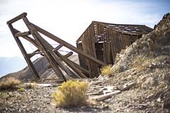 Hoist House (Shutter Theory) Tags: abandoned mine wanderlust explore mojavedesert owensvalley easterncalifornia ef50mmf18 oldmine inyomountains inyocounty hoisthouse canon6d abandonedcalifornia