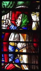 Jesus is mocked (detail, English, 16th Century) (Simon_K) Tags: cambridge college church glass university chapel stainedglass tudor stained kings vitrail cambridgeshire eastanglia 16thcentury vitraux cambs kingss
