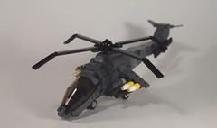 AH-78 Apache (Side) (Dyroth) Tags: us war ship lego military battle moose helicopter vehicle gunship militaryship brickarms legoguns legomilitary legowar legoblackops dyroth customlegovehicle