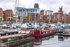 Liverpool Marina 2 26th May 2016 (Bob Edwards Picture Liverpool) Tags: marina liverpool boats merseyside