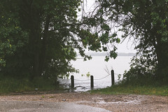 Flood. (Benjamin Ford) Tags: lake rain weather canon flood garland l usm rowlett 70200 f4 6d