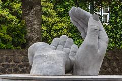 Hands Sculpture 190 of 365 (3) (bleedenm) Tags: ireland sculpture spring ennis countyclare 2016 westernireland