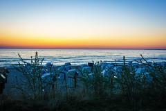 Early dawn at the beach (martintimmann) Tags: beach sunrise meer strand see water balticsea sonnenaufgang dawn timmendorf wasser sea