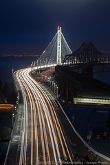 New San Francisco Oakland Bay Bridge Vertical (3scapePhotos) Tags: sanfrancisco california road new city longexposure morning travel bridge light urban usa motion west vertical fog skyline architecture modern bar night dark landscape island dawn oakland bay coast landscapes office highway san francisco long exposure downtown cityscape treasure treasureisland traffic streak suspension dusk contemporary cities trails cityscapes wallart livingroom lobby coastal baybridge yerba westcoast interiordesign buena yerbabuenaisland mancave 3scapephotos