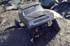 1970-s J-20_51 (My Scale Passion) Tags: old mountain scale truck vintage rocks jeep modeling body wide double retro climbing custom build scratch crawling rc wraith j20 crawler lifted styrene axial tekin scx10 myscalepassion