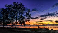 Blue hour on the passage (jan_clewett) Tags: morning reflection sunrise early peaceful bluehour passage setting magical stillness sunshinecoast caloundra goldenbeach southeastqueensland pumicestone