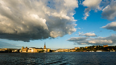 epic Stockholm (www.carbonat380.de) Tags: cityscape gx7 lumix mzuiko mft microfourthirds olympus olympus918 panasonic clouds epic impressive painted panorama sky skyline stockholm sudawn sundown sunrise sweden travel travelphotography wideview