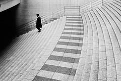 into the dark (Hiro.Matsumoto) Tags: blackandwhite monochrome minimalism abstract street sony tokyo japan