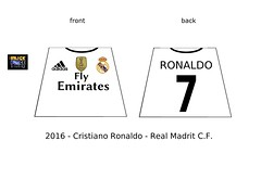LEGO Cristiano Ronaldo - Real Madrit minifigure decals (The Brick FORCE !!!) Tags: lego minifigure ronaldo custom football legoland decals torso tshirt euro fifa uefa champions league messi vs cristiano soccer 2016 season fly emirates adidas