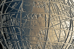 round and round we go (mariola aga ~ vacatiON) Tags: chicago willistower sculpture construction globe continents roundandround abstract art saariysqualitypictures thegalaxy