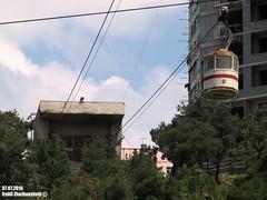 Abandoned Cable Car in Tbilisi (Georgia) connecting districts Samgori - Vazisubani (Irakli Zhozhuashvili) Tags: cable car ropeway seilbahn pendelbahn gondola aerial tramway outdoor tbilisi georgia tiflis