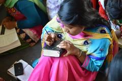 Women in Nepal (laurazimmerman81) Tags: nepal bible girl color people nepali women sari christianwomen church culture beauty joy friendship smallgroup together