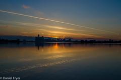 _DSC8271.jpg (danfryer2) Tags: sunset clouds cityscape detroitriver detroitskyline gmbuilding