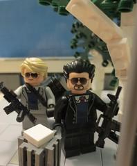 "Lego ""Heat"" Characters (WisrthanU) Tags: lego scene heat minfigures tinytactical eclipsegrafx"