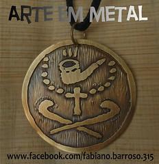 Medalha Preto Velho (Orixs, Ciganos e Msticos) Tags: caboclos xango pombagira exu umbanda pretovelho oxossi ians obaluae