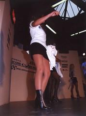fi_msha001 (themax2) Tags: 2000 legs boots bologna hostess miniskirt pantyhose nylon motorshow