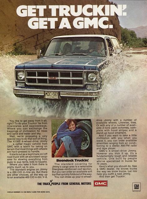 jimmy ad 4wd 1977 gmc k1500