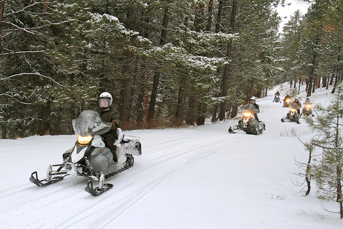 Triple Creek Ranch Snowmobiling