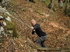 Claudio si arrampica