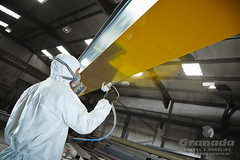 Kortec Coating system used on an Overhead Crane