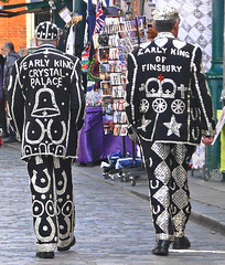 Pearly Kings Of Crystal Palace & Finsbury (cocabeenslinky) Tags: city uk england horse white black west london art hearts stars lumix photography shoes suits bell crystal photos buttons united capital kingdom palace panasonic kings end april crown pearl pearly westend horseshoes finsbury 2015 of dmcg6 cocabeenslinky