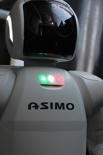 Portrait of Honda's ASIMO