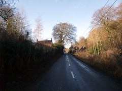 """Crossing the road at the amusingly named Pishill Bottom • <a style=""""font-size:0.8em;"""" href=""""http://www.flickr.com/photos/41849531@N04/17202031571/"""" target=""""_blank"""">View on Flickr</a>"""