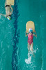 Little champions (Shkurlei) Tags: girls portrait boys water pool swimming children costume holding environmental push straight workout swimsuit exercises position kickboard laying facedown fullength