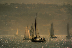 Sailing in the fog (s_gulfidan) Tags: sea fog boats sailing yachts 500faves saariysqualitypictures