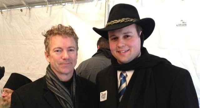 Josh Duggar With Rand Paul