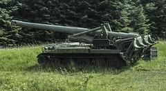 M107 Self Propelled Howitzer (udaloy) Tags: self military artillery propelled militaryvehicle howitzer m110 m107 charliekirkpatrick 175mmshels