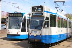 Lijn 14 -> Slotermeer + Lijn 7 -> Slotermeer (AMSfreak17) Tags: amsterdam siemens tram 10g 13g trams 809 gvb ov combino vervoer blk flevopark openbaar blokkendoos 2111 14g 9g 9g10g amsfreak17