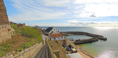 The hens Ladder and Crail Harbour fife. (dodfather) Tags: scotland nikon fife harbours crail dodfather p51015april14
