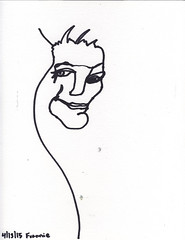2015.04.13 Frannie (Julia L. Kay) Tags: sanfrancisco party portrait blackandwhite bw woman white black art face female pen paper sketch san francisco artist arte julia kunst kay daily dessin peinture portraiture 365 everyday dibujo artista artiste knstler portraitparty juliakay jkpp julialkay juliakaysportraitparty jkppfeed