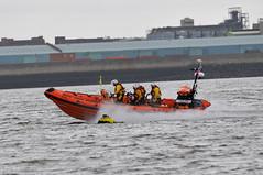New Brighton RNLI Exercise (sab89) Tags: new sea irish tractor liverpool river brighton exercise no charles estuary lifeboat civil 51 launch m3 mersey unit rnli lifeboats dibdin b837