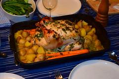 Ellen's Roast Chicken with Crème Fraîche (jjldickinson) Tags: food chicken cooking dinner potato longbeach carrot wrigley roastchicken crèmefraîche nikond3300 promaster52mmdigitalhdprotectionfilter nikon1855mmf3556gvriiafsdxnikkor 102d3300