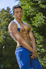 EDITE67A3002 (TerryGeorge.) Tags: shirtless sexy male model natural muscle models workout fitness gym abs sixpack fit