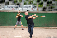 Swing for the Fences (Mark Griffith) Tags: church washington picnic softball memorialday issaquah issaquah1stward tibbetspark sonya7ii zeiss70200mmf4 20150525dsc04841