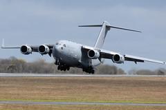 C-17A, ZZ178 (WestwardPM) Tags: boeing globemaster raf royalairforce newquayairport newquaycornwallairport c17a zz178