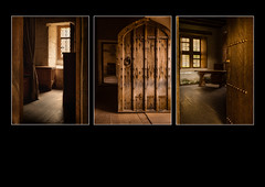 The Monks House, Mount Grace Priory (S.R.Murphy) Tags: travel england building architecture canon rooms triptych fineart indoor monks oldbuilding priory 16thcentury englishheritage mountgracepriory travelphotography canon24105mmf4l canon6d stuartmurphy lightroomcc carthusiancell