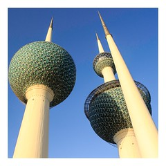 Kuwait Towers (Ravi - 3R) Tags: architecture towers kuwait rrr kuwaittowers