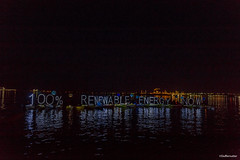 HQ 100% Renewable Energy Now LED OLB Light Panel Luminary Flotilla at Break Free PNW 2016 Photo taken by John Duffy 27031916081_9c254fdf6d_o (Backbone Campaign) Tags: water justice washington energy kayak break action politics protest creative paddle shell free social demonstration oil change wa environment activism anacortes campaign pnw refinery climatechange climate tesoro artful backbone renewable refineries 2016 kayaktivist kayaktivism breakfreepnw