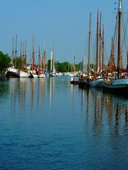 Museumshafen in Greifswald (Sophia-Fatima) Tags: deutschland sailing greifswald mecklenburgvorpommern segelschiffe segler yachten museumshafen flussryck
