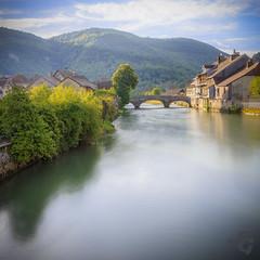 Pont vieux (Stphane Gavoye) Tags: france rivire pont franchecomt lieux loue valledelaloue etiquettesdemotsclsimportes